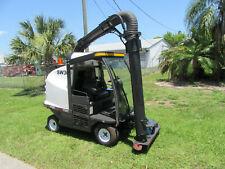 MadVac Lr50 Compact Vacuum Litter Collector with Robotic Arm Cab 28 hp Kubota
