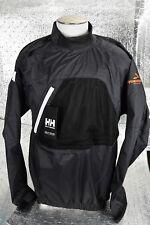 New Men's Helly Hansen Dinghy Smock Top Hydropower Pro Sailing Sz XL Ebony $130