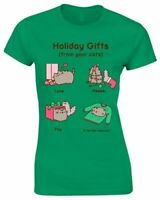 New Official PUSHEEN - HOLIDAY GIFTS Girlie T-Shirt