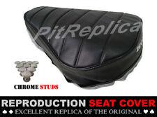 HONDA MINI TRAIL Z50J Z50 J *HEAT PRESSED* SADDLE SEAT COVER + BUTTON [HCTSA]