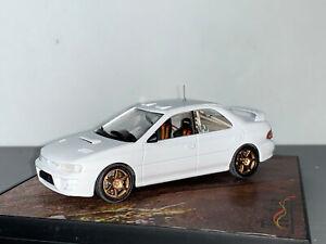 RALLY 1/43 CODE 3 TROFEU PRODRIVE SUBARU IMPREZA 555 PLAIN WHITE RHD KIT WRC RAR