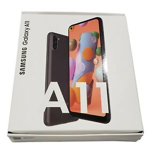 BRAND NEW Samsung Galaxy A11 32GB Black Unlocked  from (Boost Mobile)