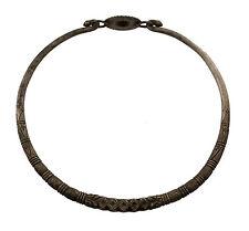 TORQUE COLLIER ETHNIQUE HANSULI THARU TAMANG NEPAL NEPALAIS ANCIEN TIBET 3648