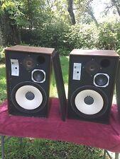 Vintage James B Lansing JBL L88 Plus upgraded L-100 Audiophile Speakers Monitors
