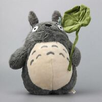 UK Seller Studio Ghibi My Neighbour Totoro Cute Large Plush Toy with Leaf 38CM