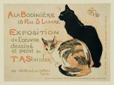 CAT PRINT: A la Bodiniere/Exposition Theophile-Alexandre Steinlen Poster 11x14