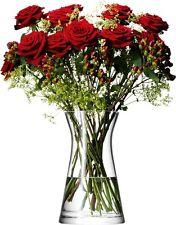 LSA Flower Mixed Bouquet 29cm Vase - Clear