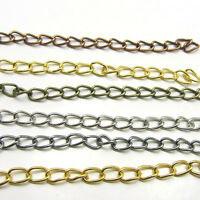 6-7cm Extention Extender Chains Jewelry Chain Tail Extenders Plated Colored