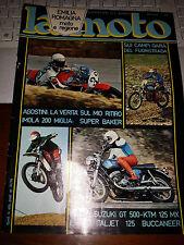 LA MOTO #5 1976 AGOSTINI SUZUKI GT 500 KTM 125 MX ITALJET 125 BUCCANEER
