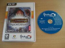 DRAGONSHARD Pc DVD Rom SO DRAGON SHARD D&D - FAST POST
