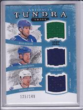 11/12 Artifacts Tundra Trios Jersey Ryan Kesler Henrik Daniel Sedin Canucks /149