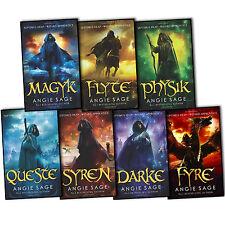 Septimus Heap Collection Angie Sage 7 Books Set Fyre Darke Syren Queste Physik