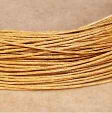 Waxed Cotton Cord Beading Rattail Braided DIY Jewellery Making String Thread 1mm