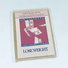 VINTAGE SELF-HYPNOSIS WEIGHT SUBLIMINAL PERSUASION CASSETTE TAPE ALBUM 1984