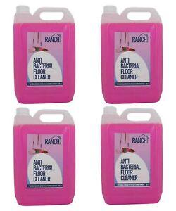 Floor Cleaner Kills 99% Germs Bubblegum Scent 5L (x2, x3 & x4 Choices) Ranch