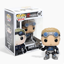New Gears Of War Damon Baird Pop Vinyl Figure #197 Funko Official