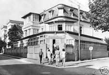 """AK, Seebad Ahlbeck auf Usedom, FDGB-Erholungsheim """"Strandschloß"""", 1969"""