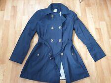 Sainsbury's TU Size 16 Navy Blue Summer Trench Coat