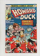 Howard The Duck #13 - 1st Full Kiss App In A Comic Book! - (Grade 7.0) 1977
