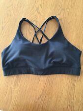 womens fitness Bra - Crop top, Crane Brand, Black Size L/14