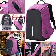 Anti-theft Laptop Backpack USB Charging Business Waterproof School Bag Travelbag