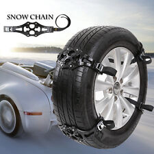 1PC Easy Install Simple Winter Truck Car Snow Chain Black Tire Anti-skid Belt