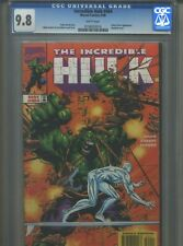 Incredible Hulk #464 CGC 9.8 (1998) Silver Surfer White Pages Highest Grade