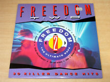 EX/EX !! Freedom Two/1990 Trax Music Double LP/Technotronic/Blue Pearl/DNA