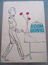 MENU RESTAURANT VERS 1960 CARTE DE ROOM SERVICE