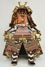 Awesome complete set Japanese vintage samurai armor and helmet circa 1970s(YKH)
