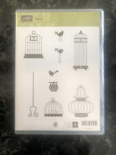Stampin Up Aviary - Birds, Birdcages, Owl