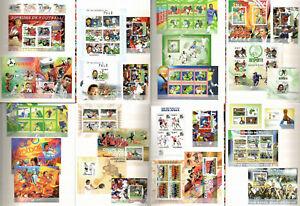 Football Soccer [1] Ronaldo, Pele Collection 30 sheets MNH in Album CV304€ #CL54