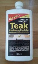 Starbrite Teak Reiniger Wiederhersteller Cleaner/Brightner 2in1 Version 1000ml