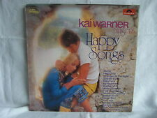 "Kai warner Singers. Happy Songs. 12"" Vinyl"
