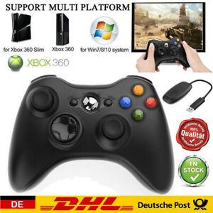 Xbox 360 Controller Wireless and Wired Gamepad Joystick Top für Microsoft DE