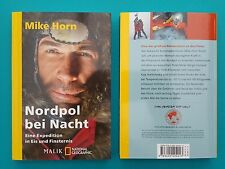 National Geographic Polo nord di Notte Mike Horn Libro tascabile non-letto 1A