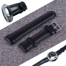 22mm Leather Watch Bracelet Watchband Replacement Fit for SUUNTO X-LANDER