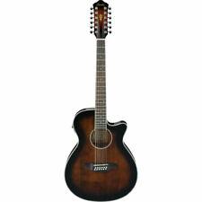 Ibanez AEG1812II 12 String  Acoustic-Electric Guitar -  Dark Violin