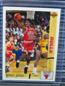 1991-92 Upper Deck Michael Jordan #44 Bulls E450