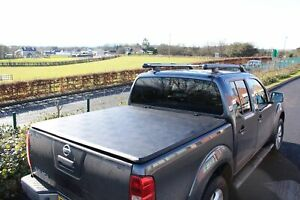 FOR NISSAN NAVARA D40 2005-2015 DOUBLE CAB SOFT ROLL UP COVER - TONNEAU