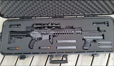 Gun Case Storage Waterproof Customizable Foam Hard Shell AR 15 Rifle Firearm 42""