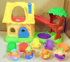 PLAYSKOOL  WEEBLES  GOLDILOCKS  HOUSE  COTTAGE  GREAT  CONDITION  (O)