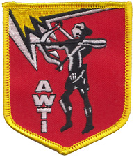 Air Weapons Training Installation AWTI Decimomannu Air Base Embroidered Patch