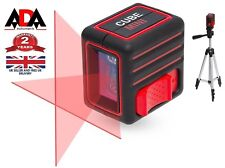 Laser Level Cross Line Self Leveling with TRIPOD Bag ADA Instruments CUBE MINI