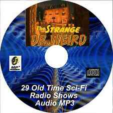 The Strange Dr.Weird (1944-1945) - 29 Old Time Radio Shows Horror - Audio MP3 CD