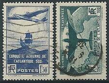 1936 FRANCIA USATO TRAVERSATA DELL'ATLANTICO - EDF022