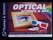 Optical Science & Art Experiment Kit Educational Stem Toy Thames & Kosmos -New!