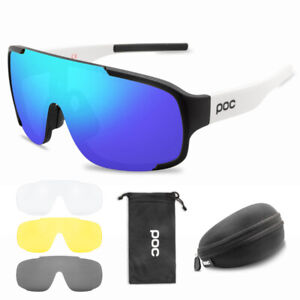 POC Outdoor Cycling Glasses Mountain Bike Goggles Bicycle Sunglasses Men Women.