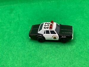 ORIGINAL TOMY AFX RACEMASTER, HIGHWAY PATROL # 213, POLICE CAR AWESOME CAR