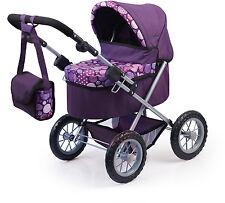 Puppenwagen Trendy von Bayer Design mit Wickeltasche und Windschutz-1309400